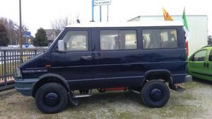 Iveco Daily 4x4 vettura 9 postini