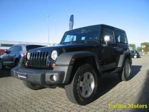 Jeep wrangler 2.8 crd dpf sport auto