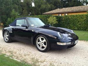 Porsche 993 carrera cabrio