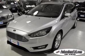Ford focus sw titanium 1.5 tdci 120cv euro6 navi pack