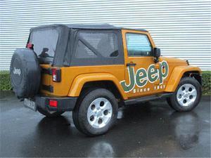 Jeep wrangler jeep wrangler sahara 2.8 crd 200 cv diesel