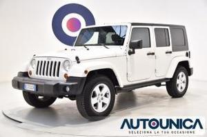 Jeep wrangler unlimited 2.8 crd dpf sahara auto 4x4 aut