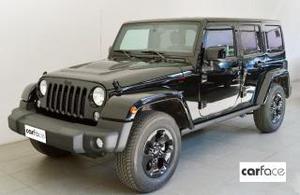 Jeep wrangler unlimited 2.8 crd dpf black edition auto