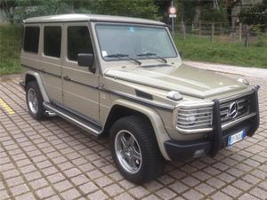 Mercedes-benz g 500 ge amg