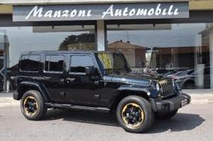 Jeep wrangler unlimited 2.8 crd dpf x auto