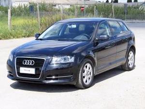 Audi a3 spb 1.6 tdi 105 cv cr ambiente