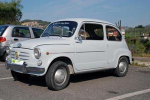Fiat 600 EPOCA ISCRITTA ASI