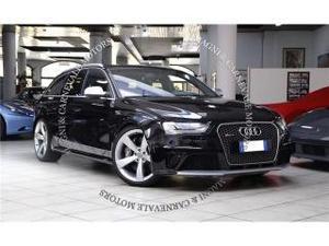 Audi a4 rs4 avant - iva esposta - sedili sportivi