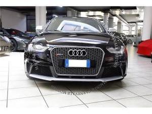 Audi rs 4 avant - iva esposta - sedili sportivi