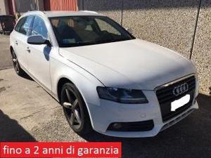 Audi a4 avant 2.0 tdi ambiente plus sline int. sline exter