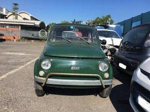 Fiat 500 disponibile solo per i pezzi