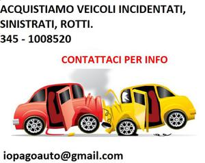 auto usata incidentata