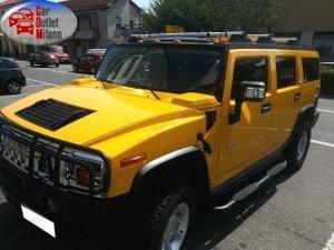 Hummer h2 6.0 v8 luxury  b 322cv 4aut 4p giallo