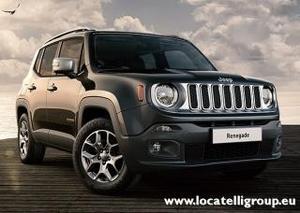 Jeep renegade 1.6 mjt 120 cv limited - carbon black