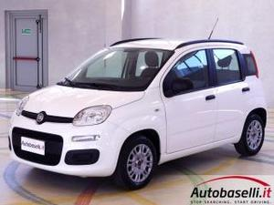Fiat panda 1.2 easy 69cv euro5, clima, radio cd, city, asr