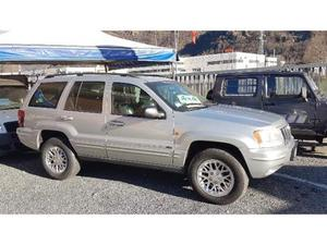 Jeep Grand Cherokee 2.7 CRD cat Limited dischi e pastiglie