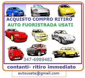 Acquisto auto veicoli usati per contanti
