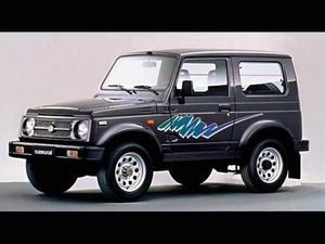 Suzuki samurai 1.3i cat autocarro