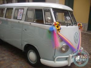 Noleggio Affitto Pulmino Volkswagen VW T1 Matrimoni Feste