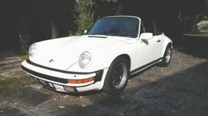 Porsche  carrera targa  service book