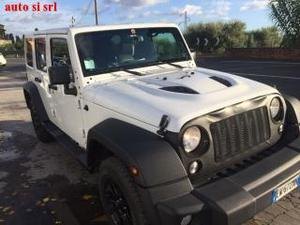 Jeep wrangler unlimited 2.8 crd dpf rubicon auto