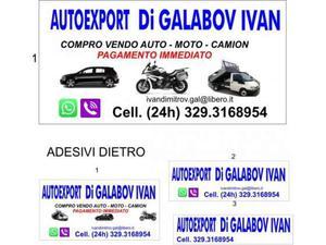 Altro compro auto,moto,camion usate,incidentate,fuse compro