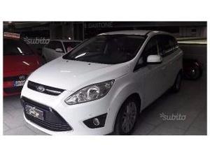 Ford c-max c max 7 posti 2.0 tdci 163cv titanium navy pelle