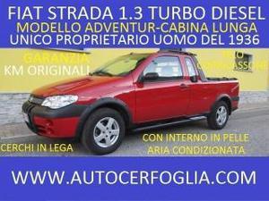 Fiat strada 1.3 mjt pick-up cabina lunga adventure