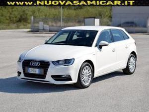 Audi a3 spb 1.4 tfsi metano g-tron ambiente pelle