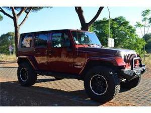 Jeep wrangler unlimited 2.8 crd sahara auto - accessori