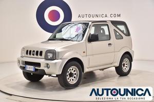 SUZUKI Jimny 1.3 CABRIO 4WD JLX SOLO  CHILOMETRI rif.