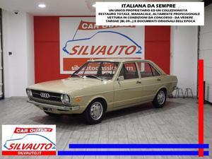 AUDI 80 NSU AUDI 80 L - RESTAURO ECCELSO DA SUPER CONCORSO