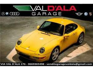 Porsche 911 carrera  coupé giallo info 347/