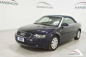 Audi a4 2.5 v6 tdi cabrio