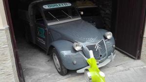 Citroen 2cv furgonetta 6v sempre italiana