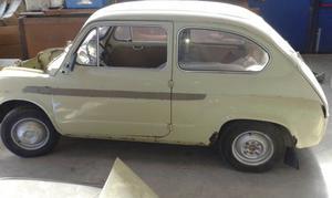FIAT 600 CAPRERA PORTE APERTURA CONTROVENTO ANNO