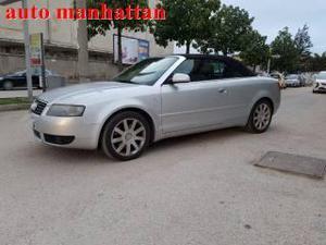 Audi a4 cabrio 2.5 v6 tdi manhattan