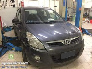 Hyundai ip. con gpl. vettura da riparare