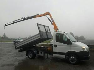 Trucks-Lkw Iveco 35c13 gru ribaltabile