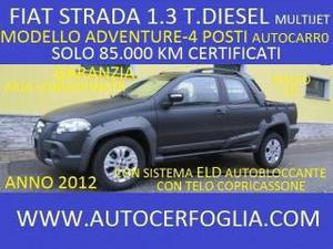 Fiat strada 1.3 mjt pick-up cab.lunga adventure - 4 posti!!!