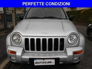 JEEP Cherokee 2.5 CRD Limited ARGENTO e PELLE TOTALE rif.