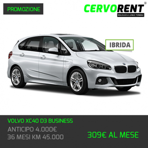 VOLVO XC40 D3 BUSINESS