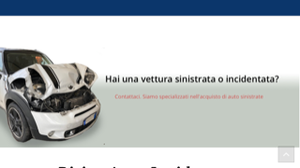 ACQUISTO AUTO INCIDENTATE VARESE T.