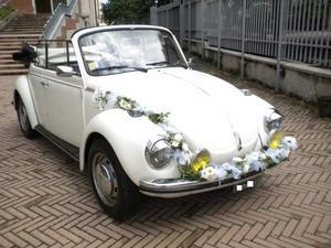 Maggiolone cabrio per matrimoni eventi