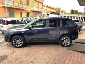 Jeep Compass 2.2 CRD Limited 4WD 163 CV PELLE TOTALE