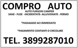 acquistiamo auto furgoni camper NORD ITALIA anche fuse