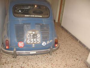 VENDO FIAT 600 D ANNO
