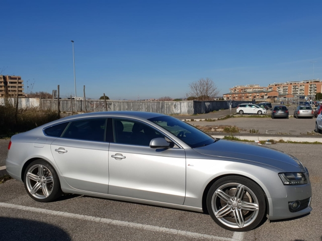 Audi a5 audi a5 sportback s-line automatica