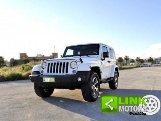 Jeep Wrangler Wrangler Unlimited 2.8 CRD Sahara A.